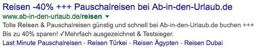 Sonderzeichen-Google