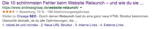 Abbildung 2: Bei der URL gibt es keine Überraschungen...