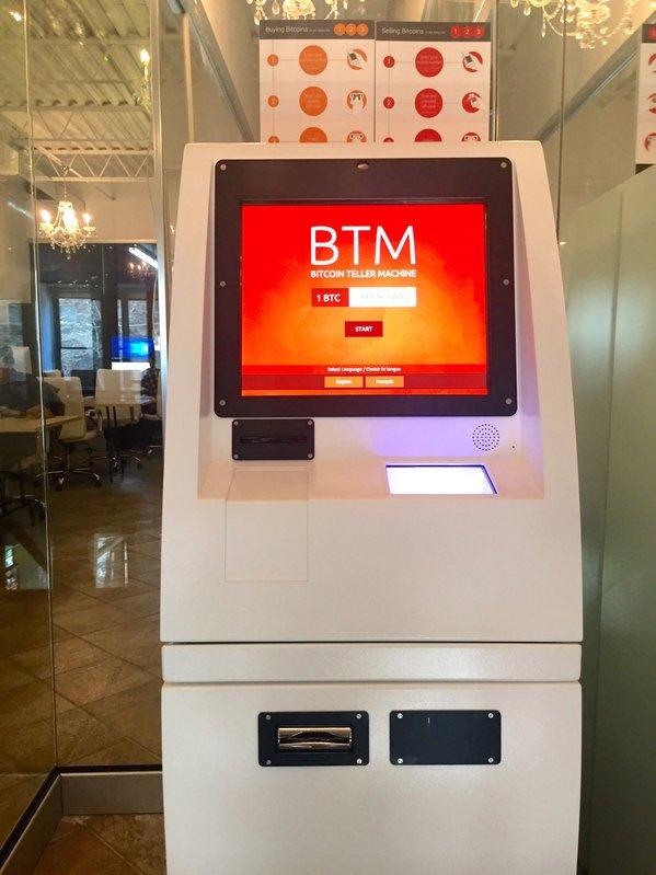 Bitcoin-Geldautomat