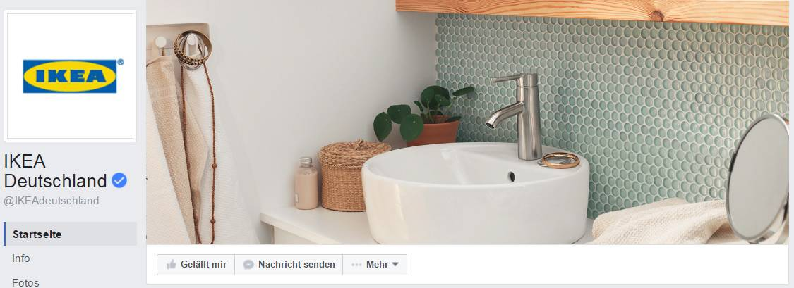 Social-Media-Marketing Beispiel fb