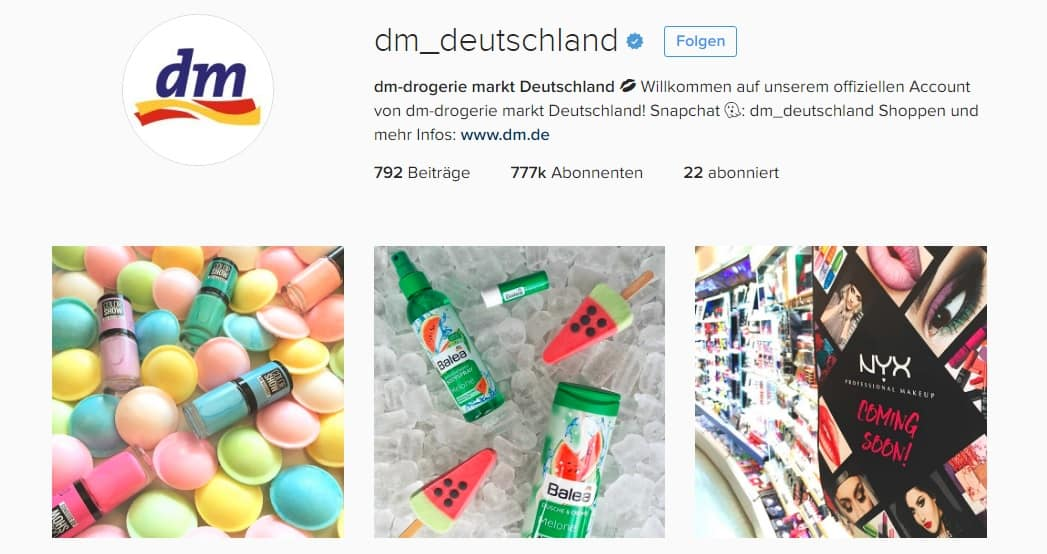 Soical Media Marketing bei Instagram