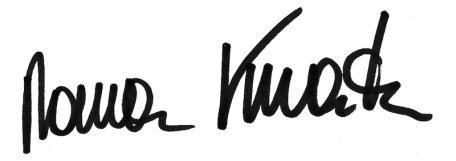 kmenta unterschrift