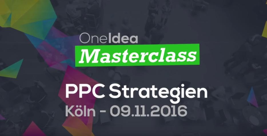 Masterclass 2012 Pay-per-Click-Strategien