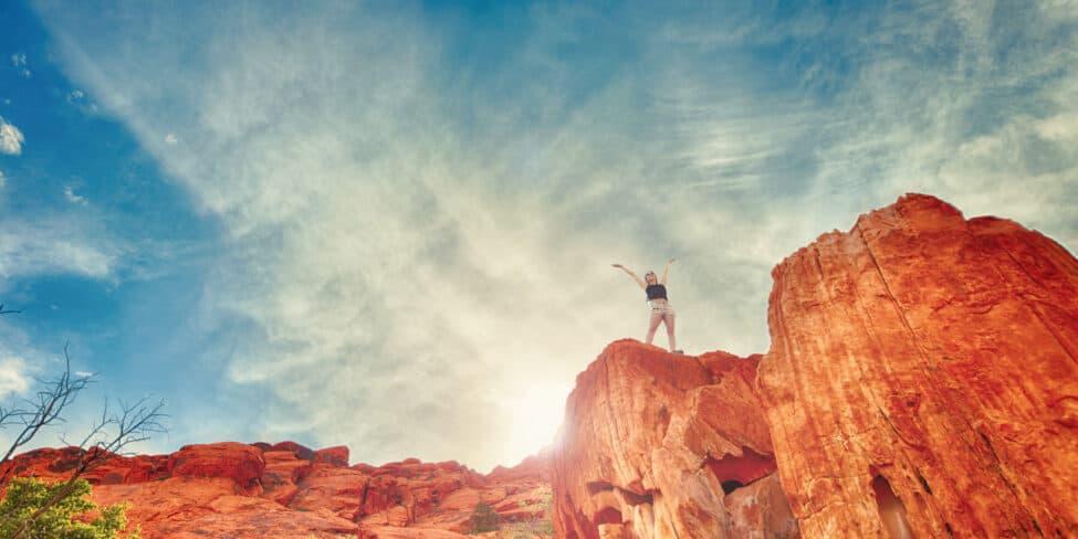 Mit der richtigen Einstellung kann es jeder nach ganz oben schaffen.