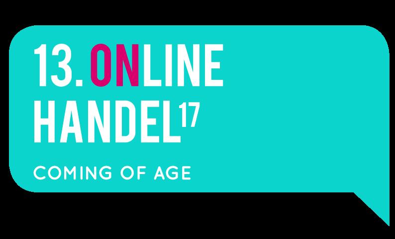 13. Online Handel 2017