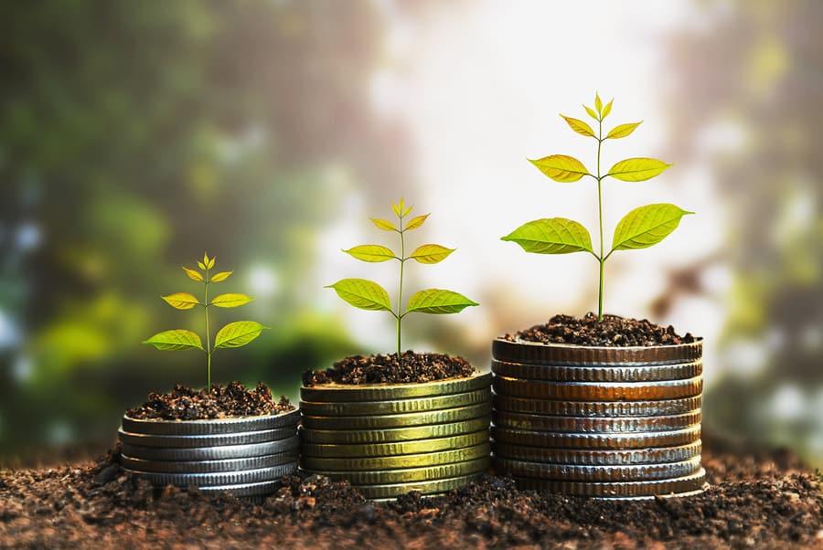 Sich mit Geduld nach und nach ein passives Einkommen aufbauen, das immer weiter wächst.