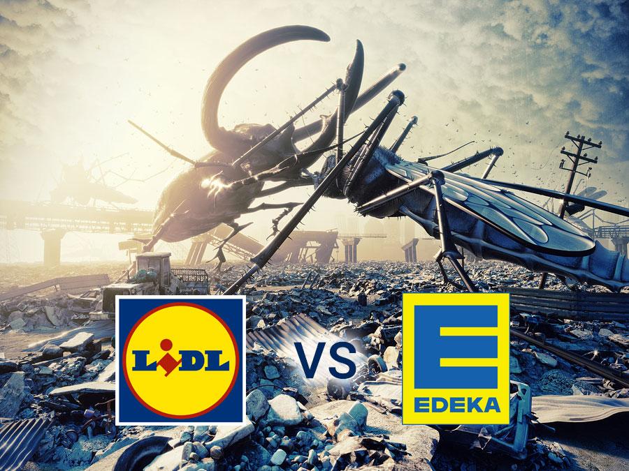 Wie Eine Werbekampagne Einen Viralen Effekt Entwickeln Kann Zeigen Die Supermarktketten LIDL Und EDEKA Seit Mehreren Monaten Liefern Sich Beiden