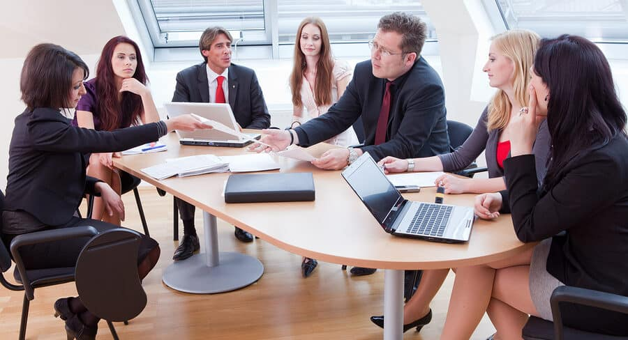 Meeting halten