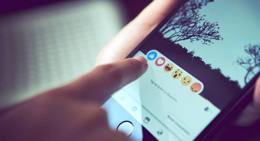 facebook interaktion