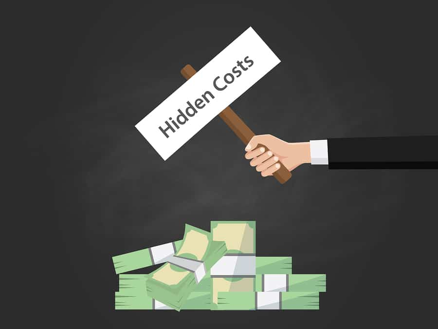 Versteckte Kosten