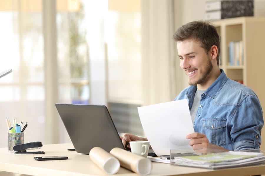 Online von zuhause Geld verdienen