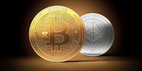 Bitcoins oder Ethereum