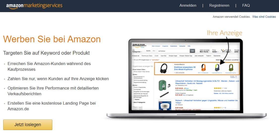 produkte über amazon verkaufen