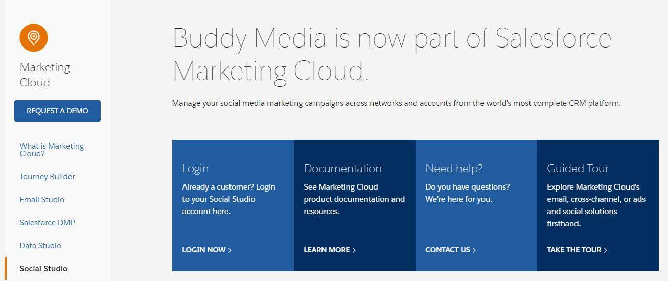 Buddy Media Salesforce