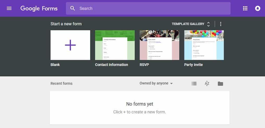 Google Forms eignet sich gut, um weniger komplexe Umfragen anzufertigen