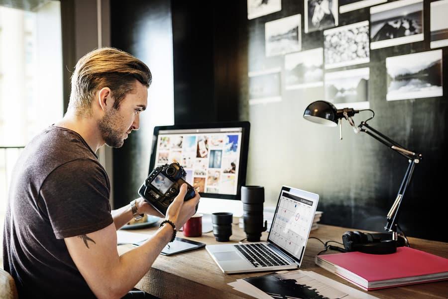 Fotograf - Überall arbeiten