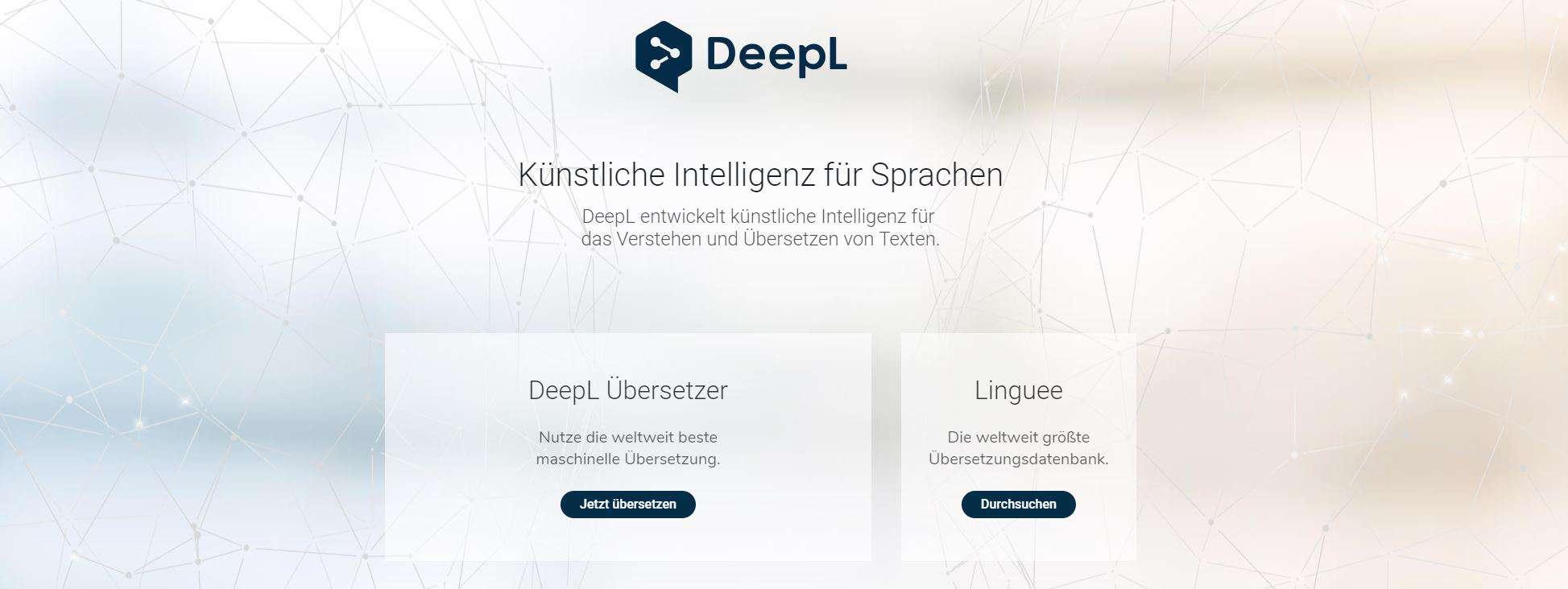 Übersetzungstool DeeplL