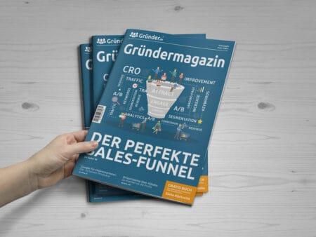 Gründermagazin kostenlos bestellen