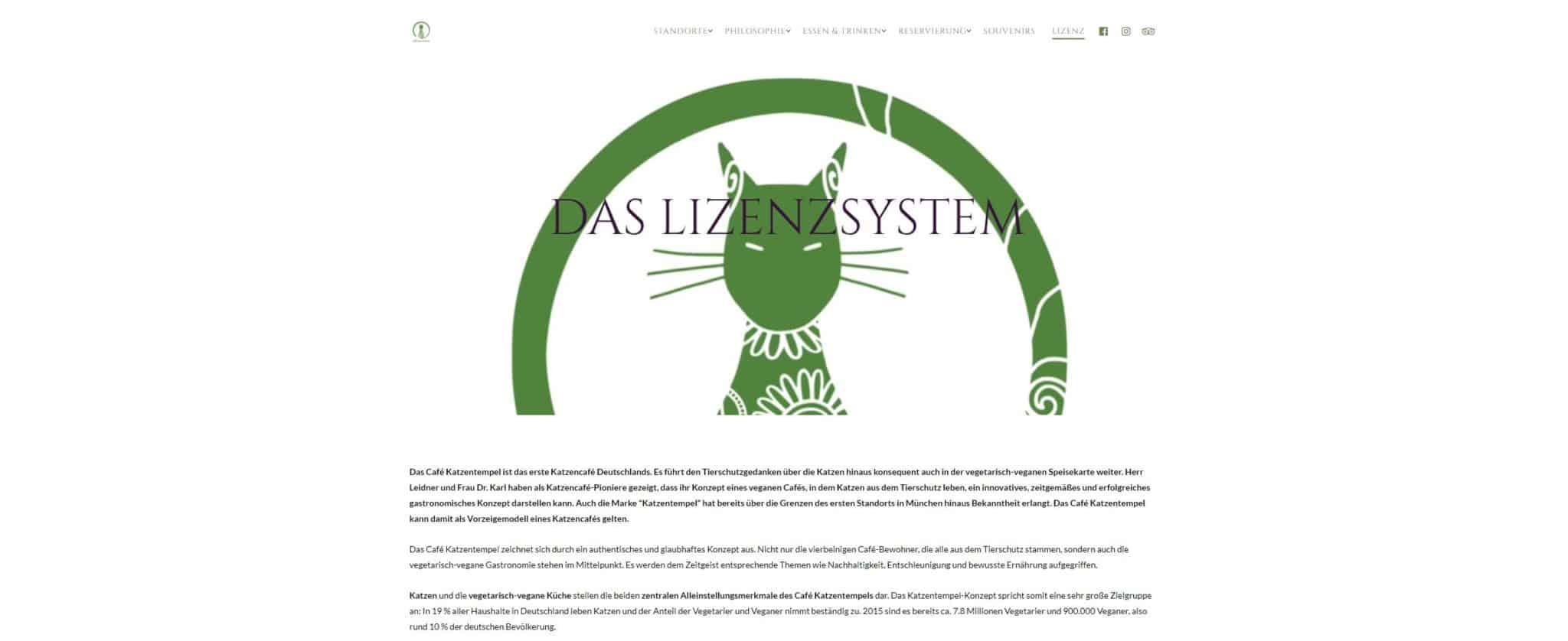 Franchise 2018: Katzentempel