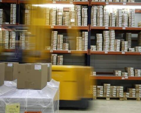 Verpackung Logistik