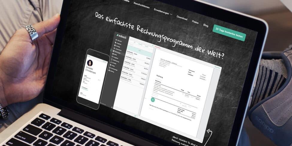 Cloud Rechnungsprogramm Zeit Sparen