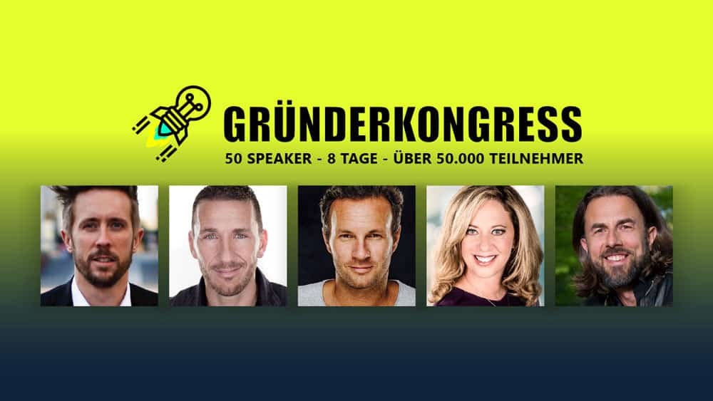 Gründerkongress 2018 letzte Chance