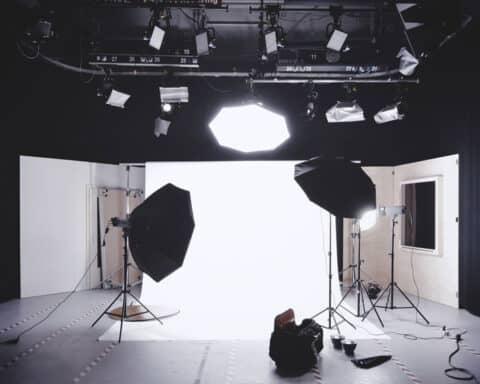 Professionelles Fotostudio