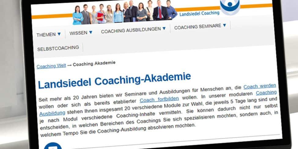 Erfolgreicher Coach