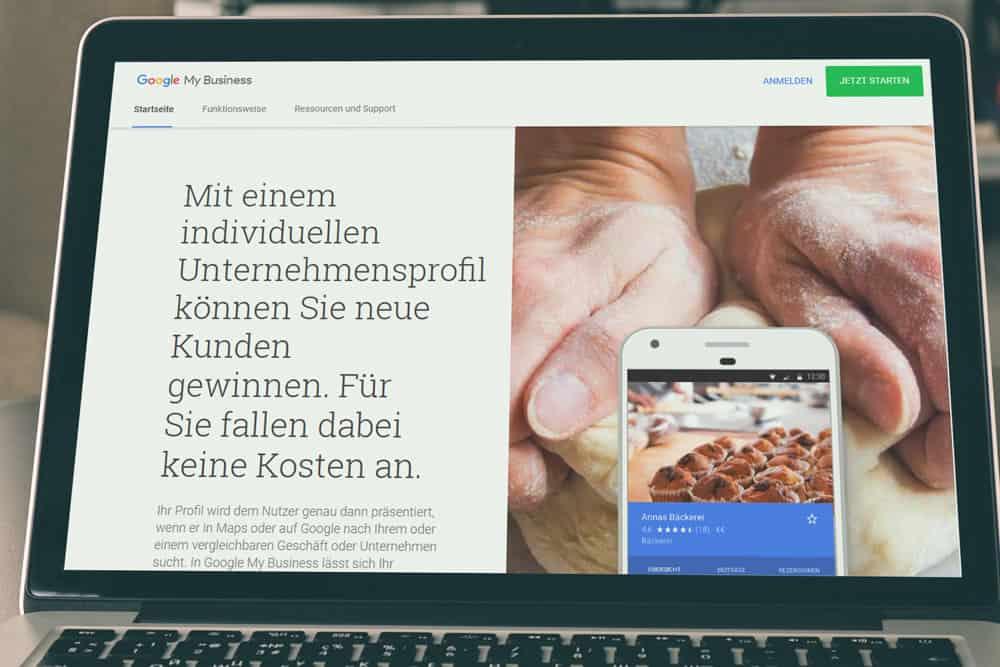 Google MyBusiness Spar Geld