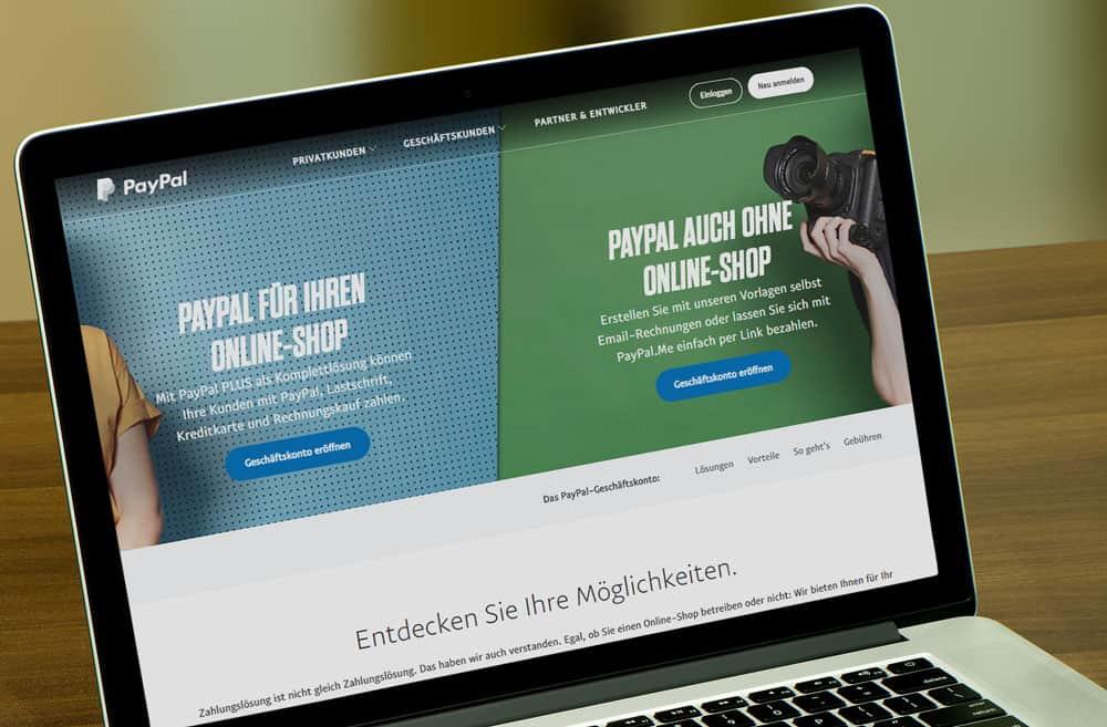 Kredite Für Onlinehändler Warum Jetzt Auch Paypal Mitmischt