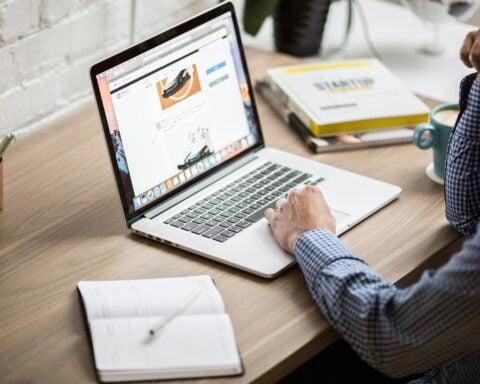 Browser auf Macbook