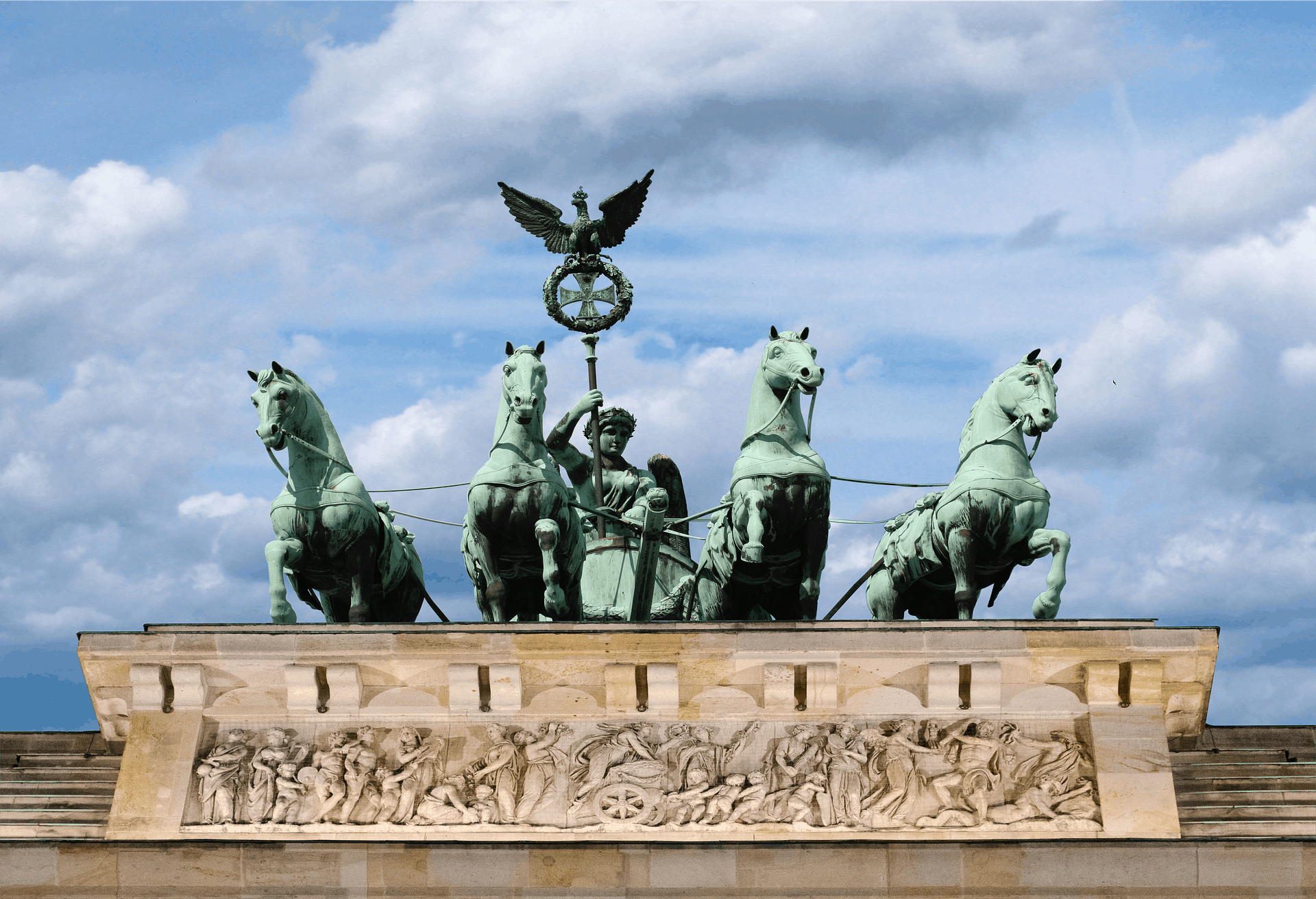 Das Brandenburger Tor als Wahrzeichen von Berlin