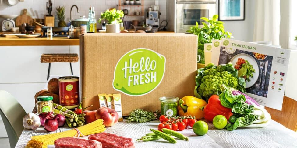 HelloFresh-Boxen so erfolgreich wie nie