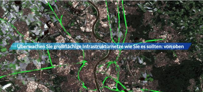 Mit LiveEO lassen sich mit Satelliten-Bildern Gefahren erkennen