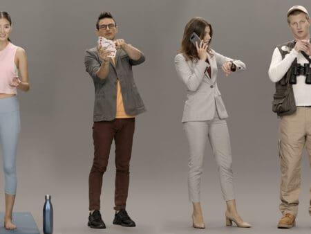 Samsung neue KI Neon sieht einem echten Menschen sehr ähnlich
