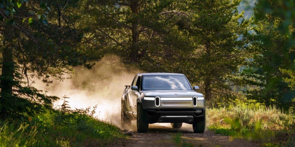 E-Truck-Startup Rivian stellt nun auch Fahrzeuge für Ford her