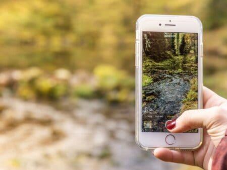 Mit dem Smartphone ein Bild für Instagram machen