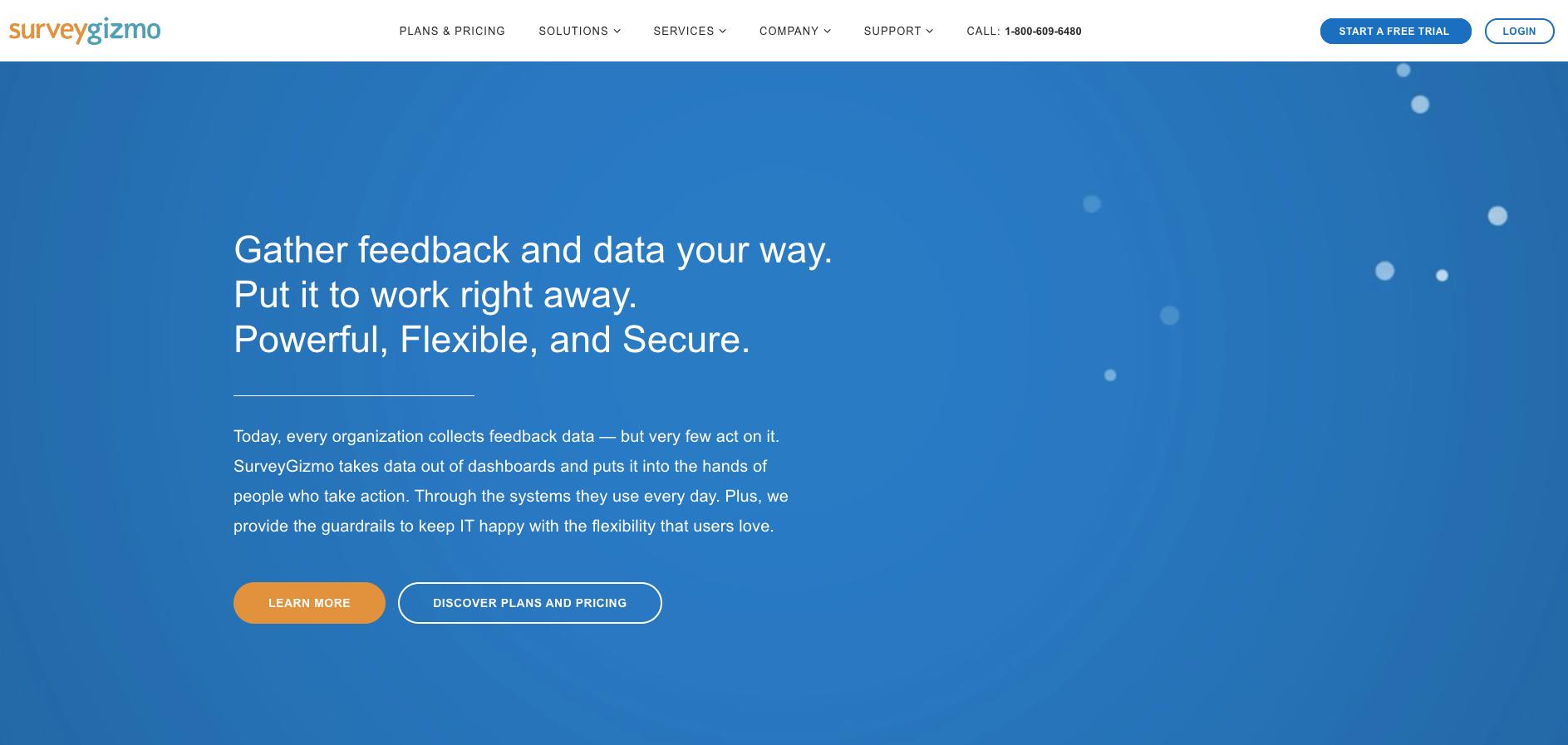 Surveygizmo ist ebenfalls ein praktisches Tool für Umfragen