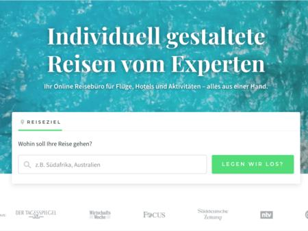 Tourlane ist ein Online-Reisebüro, bei dem sich individuell Reisen buchen lassen