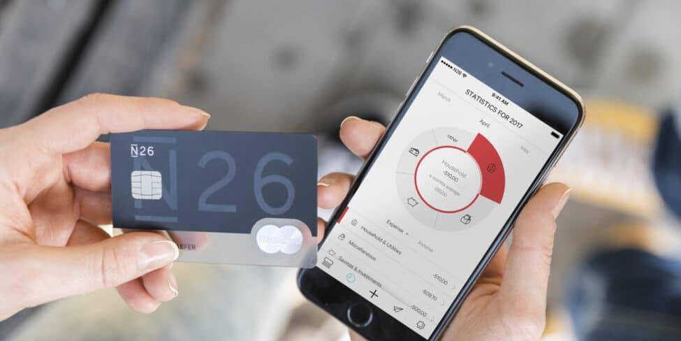 N26 ist eine Digitalbank, die sich über das Smartphone verwalten lässt