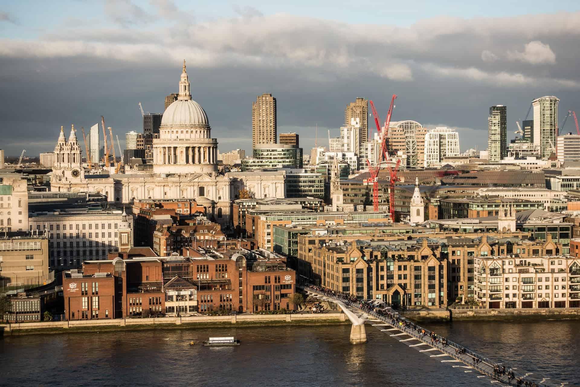 London ist auf Platz 1 der Top Ten Startups in Europa