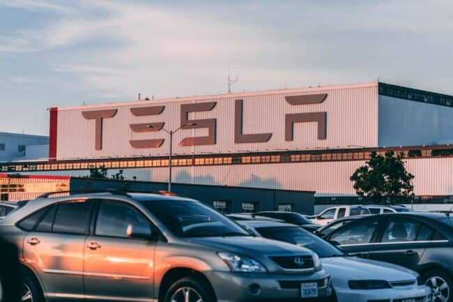 Für die neue Tesla-Fabrik hat das Unternehmen einen Förderungsantrag gestellt