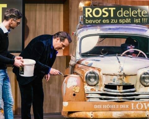 Begeisterung von Ralf Dümmel für ROSTdelete