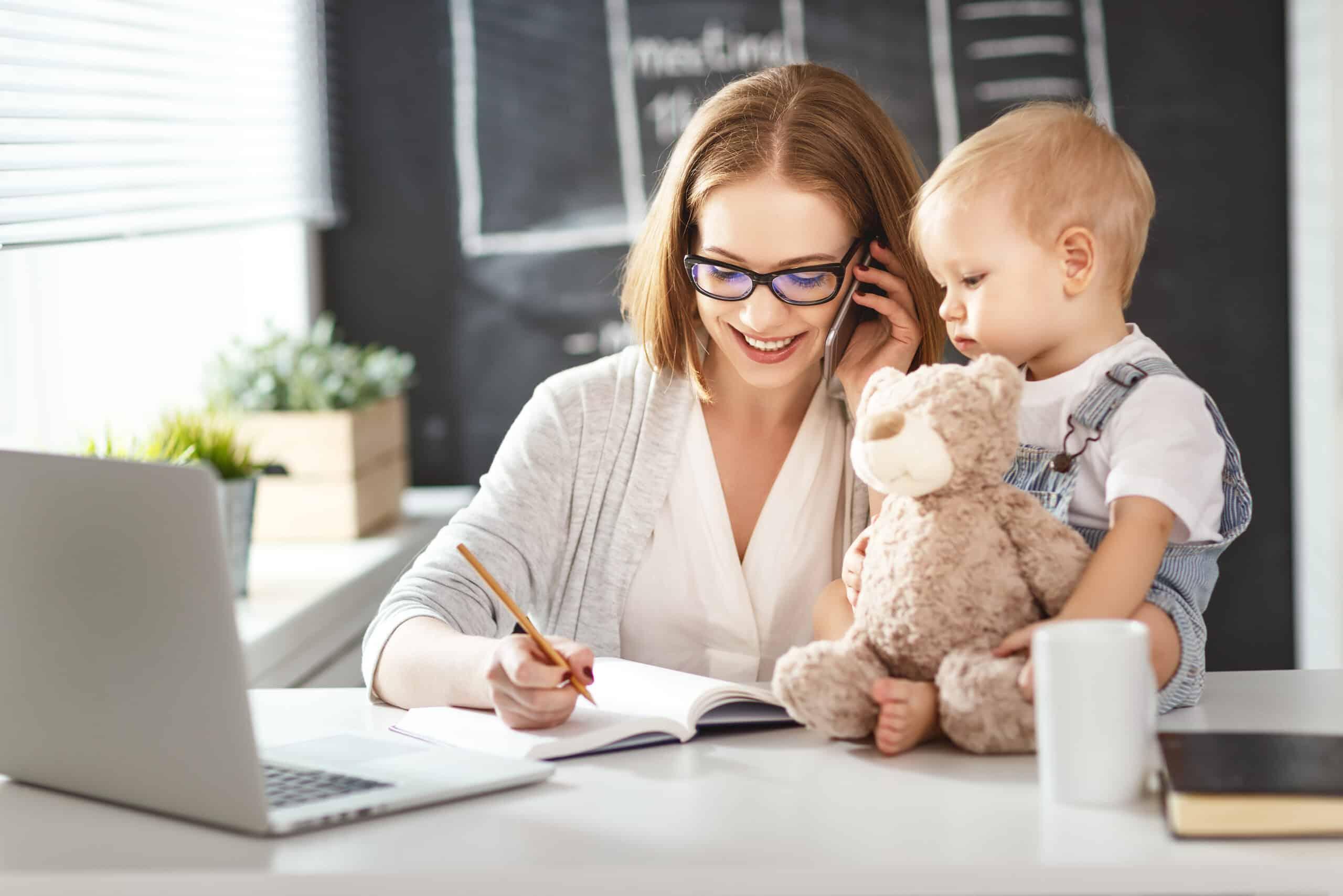 Mompreneur selbstständig machen als Mutter