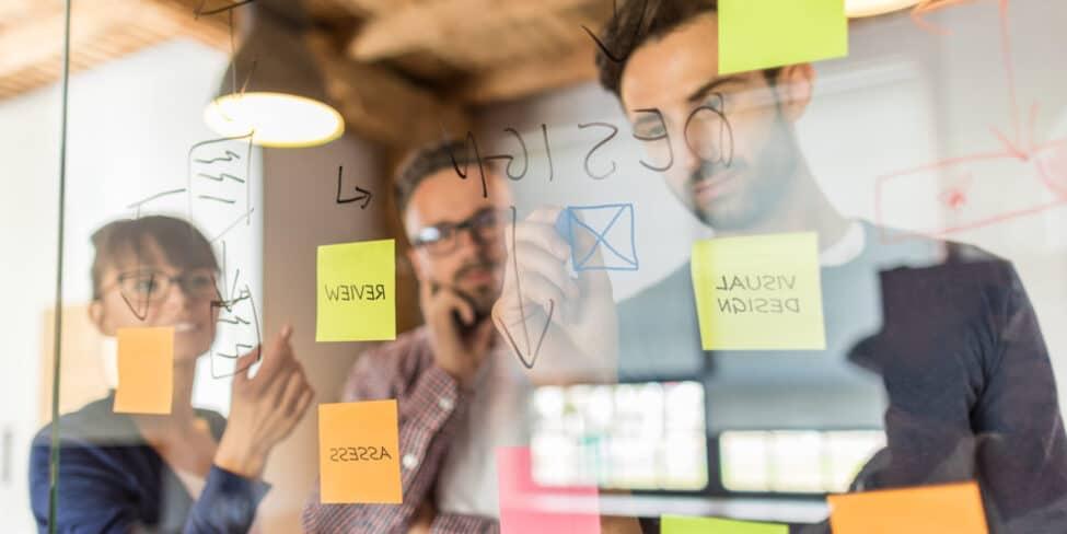 Design Thinking kann sehr wertvoll für dein Unternehmen sein.