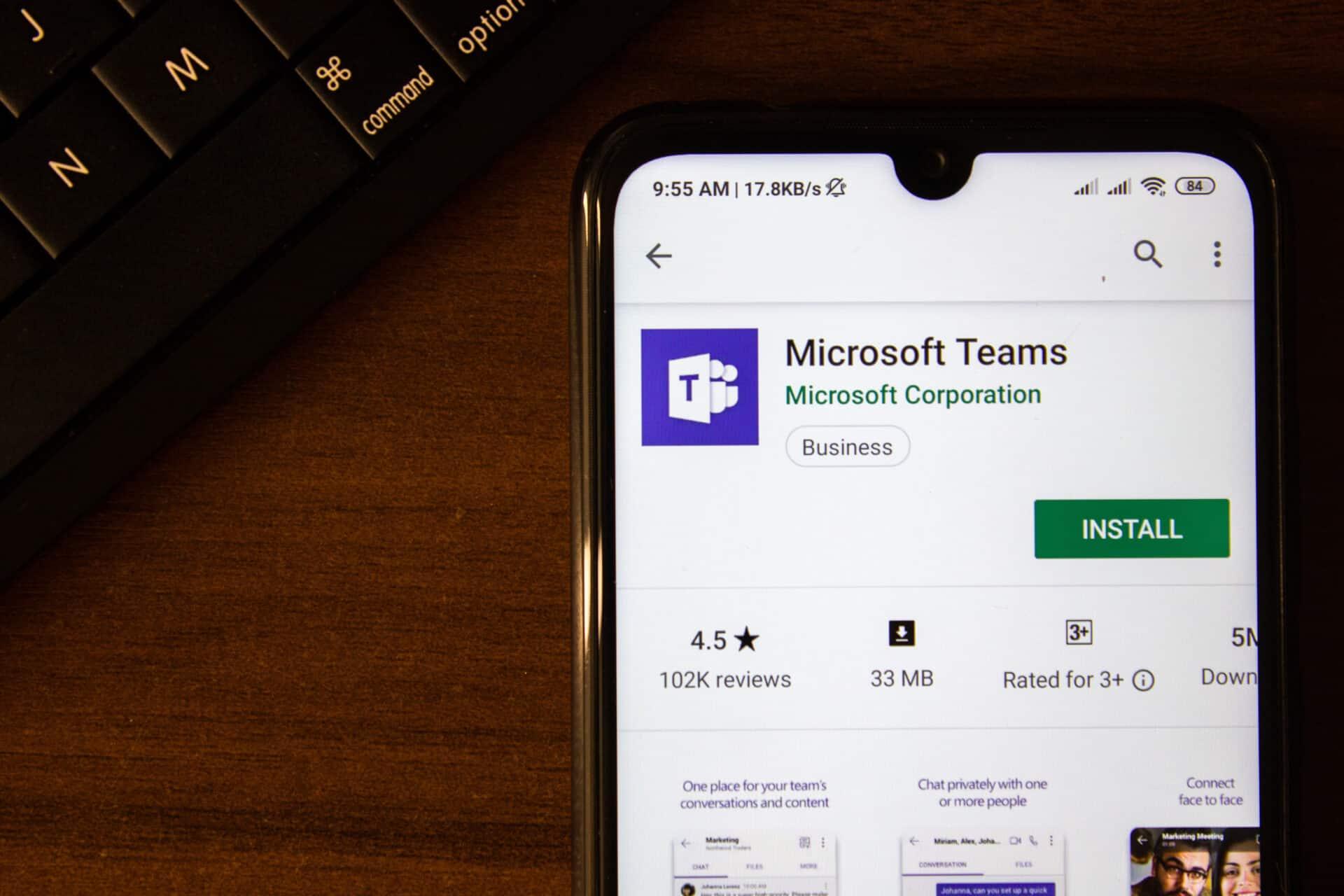 Microsoft Teams als eine von vielen Slack-Alternativen