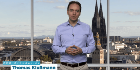 Thomas Klußmann wird dich im Kickstart Coaching begleiten.