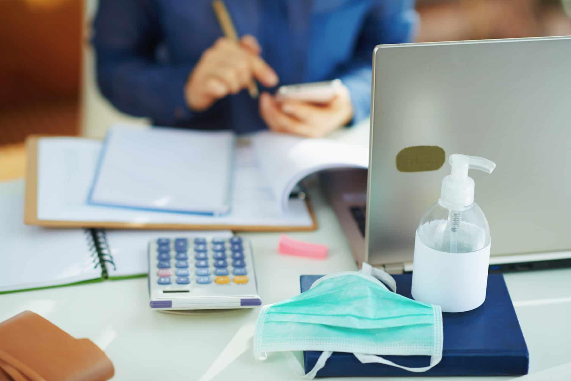 Hygienemaßnahmen am Arbeitsplatz