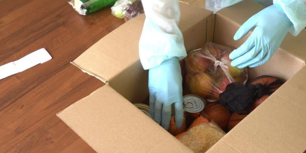 Voraussetzungen für den Lebensmittelversand