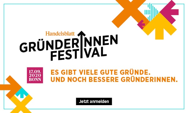 Das Gründerinnen-Festival findet am 17. September 2020 in Bonn statt.